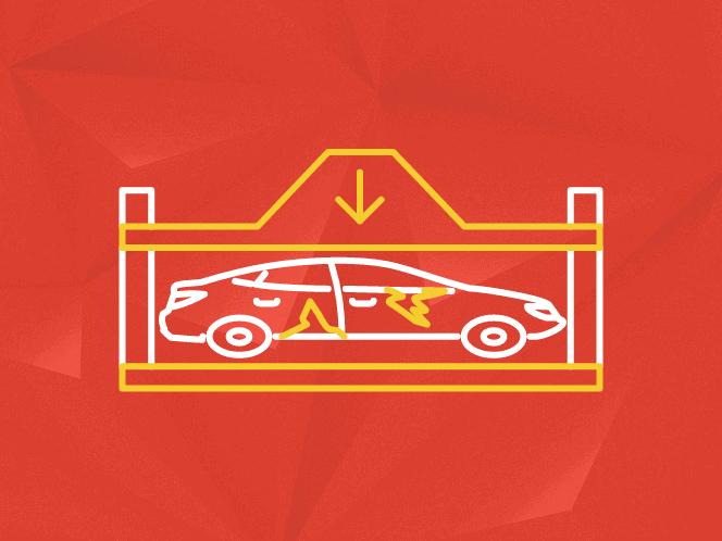 Утилизированное авто